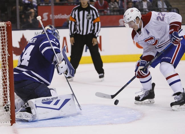 Toronto Maple Leafs vs. Montreal Canadiens - 10/7/15 NHL Pick, Odds, and Prediction
