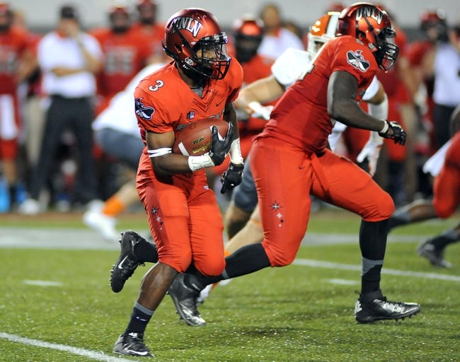 UNLV Rebels vs. San Jose State Spartans - 10/10/15 College Football Pick, Odds, and Prediction