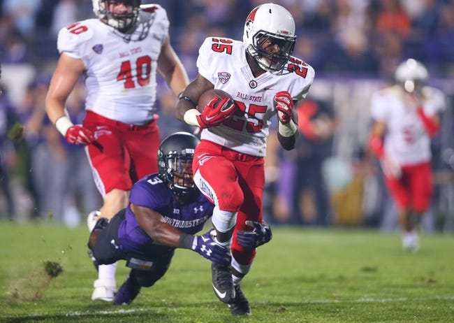 Ball State vs. Massachusetts - 10/31/15 College Football Pick, Odds, and Prediction