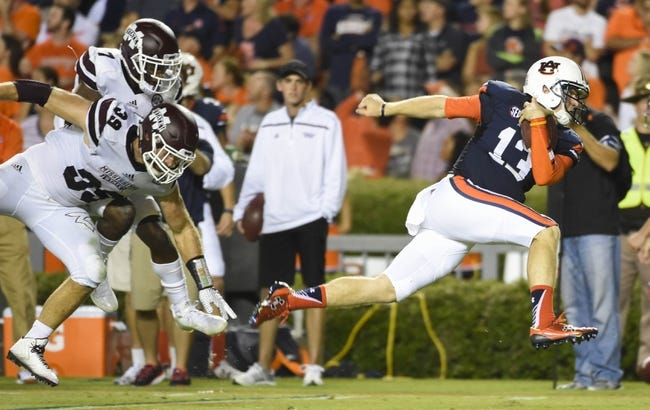 Mississippi State vs. Auburn - 10/8/16 College Football Pick, Odds, and Prediction
