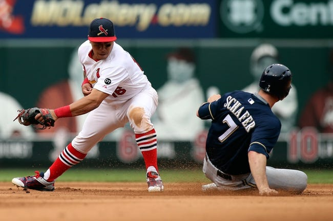 St. Louis Cardinals vs. Milwaukee Brewers - 4/11/16 MLB Pick, Odds, and Prediction
