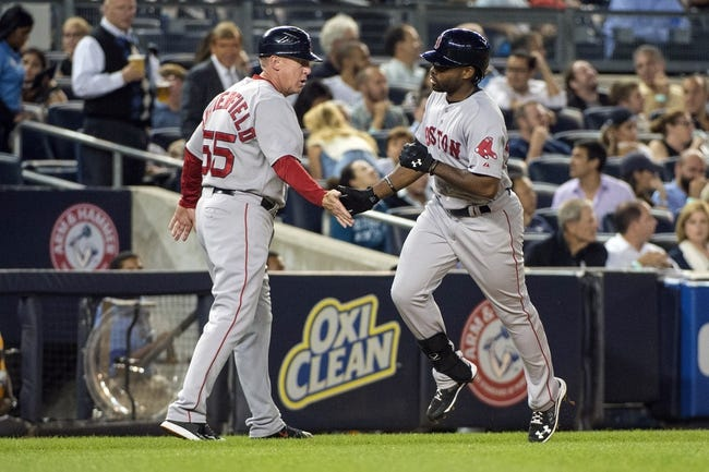 Yankees vs. Red Sox - 9/29/15 MLB Pick, Odds, and Prediction
