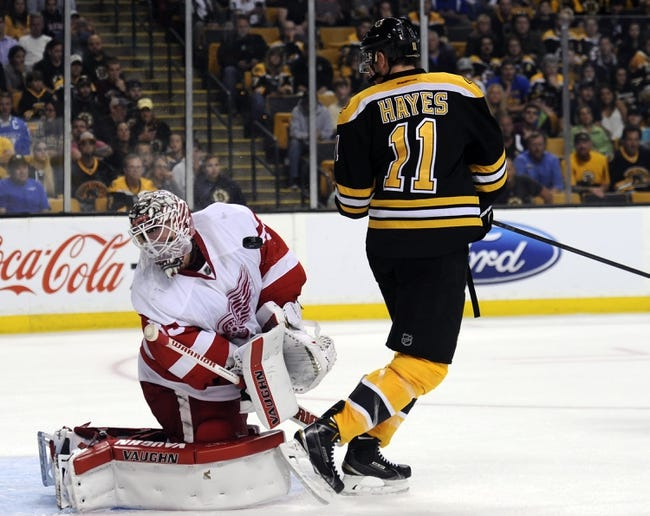 Boston Bruins vs. Detroit Red Wings - 11/14/15 NHL Pick, Odds, and Prediction