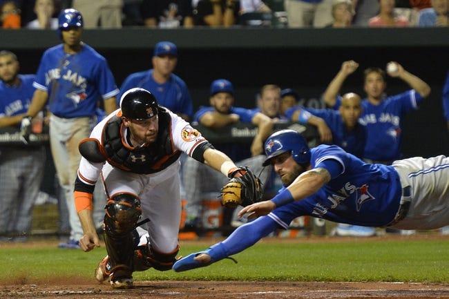 Baltimore Orioles vs. Toronto Blue Jays Game 1- 9/30/15 MLB Pick, Odds, and Prediction