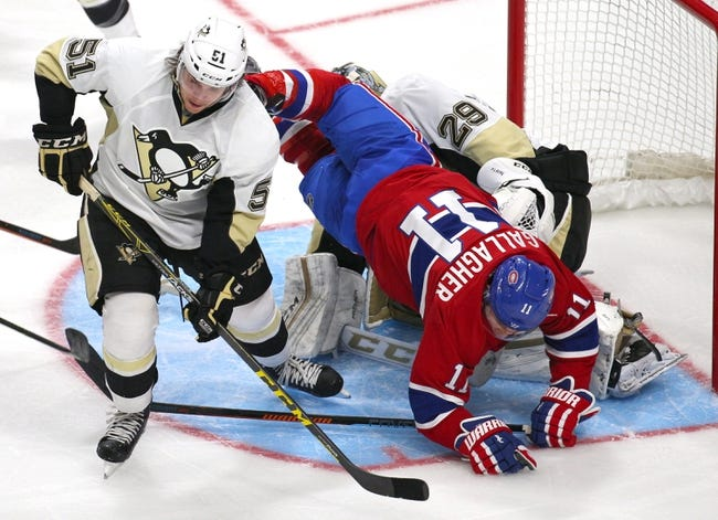Penguins vs. Canadiens - 10/13/15 NHL Pick, Odds, and Prediction