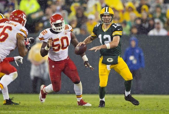 Kansas City Chiefs at Green Bay Packers 9/28/15 NFL Score, Recap, News and Notes
