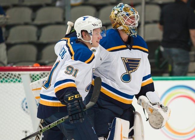 St. Louis Blues vs. Dallas Stars - 12/12/15 NHL Pick, Odds, and Prediction