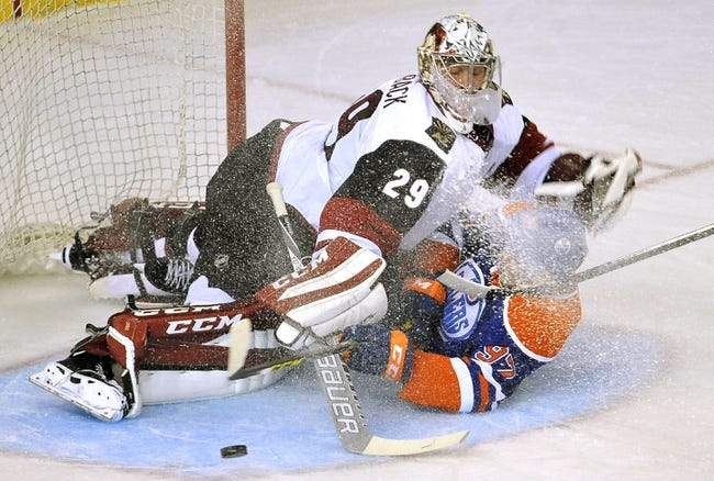 Arizona Coyotes vs. Edmonton Oilers - 11/12/15 NHL Pick, Odds, and Prediction