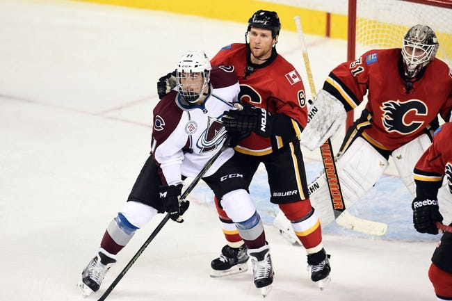 Colorado Avalanche vs. Calgary Flames - 11/3/15 NHL Pick, Odds, and Prediction