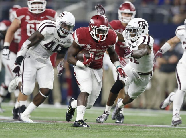 Arkansas vs. Texas State - 9/17/16 College Football Pick, Odds, and Prediction