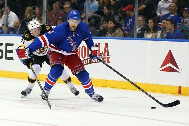 Boston Bruins vs. New York Rangers - 11/27/15 NHL Pick, Odds, and Prediction