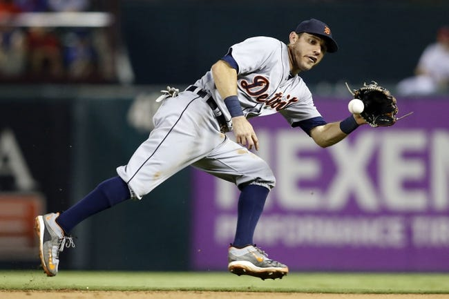 Detroit Tigers vs. Texas Rangers - 5/7/16 MLB Pick, Odds, and Prediction
