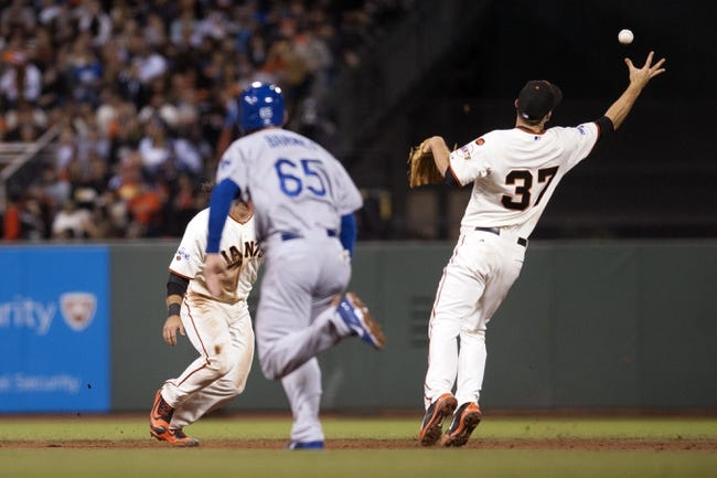 San Francisco Giants vs. Los Angeles Dodgers - 10/1/15 MLB Pick, Odds, and Prediction