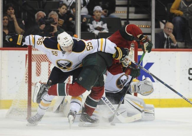 Minnesota Wild vs. Buffalo Sabres - 1/12/16 NHL Pick, Odds, and Prediction