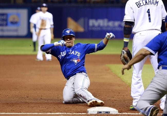 Tampa Bay Rays vs. Toronto Blue Jays - 10/3/15 MLB Pick, Odds, and Prediction