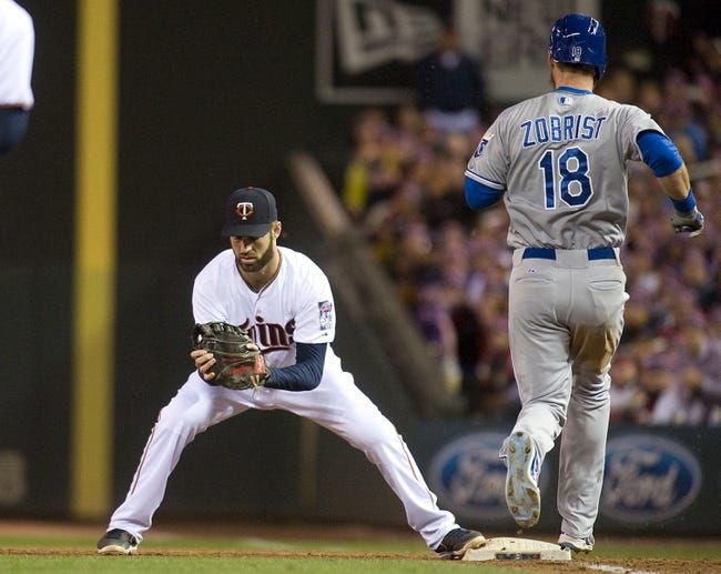 Twins vs. Royals - 10/3/15 MLB Pick, Odds, and Prediction