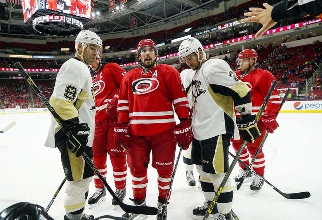 Pittsburgh Penguins vs. Carolina Hurricanes - 12/19/15 NHL Pick, Odds, and Prediction