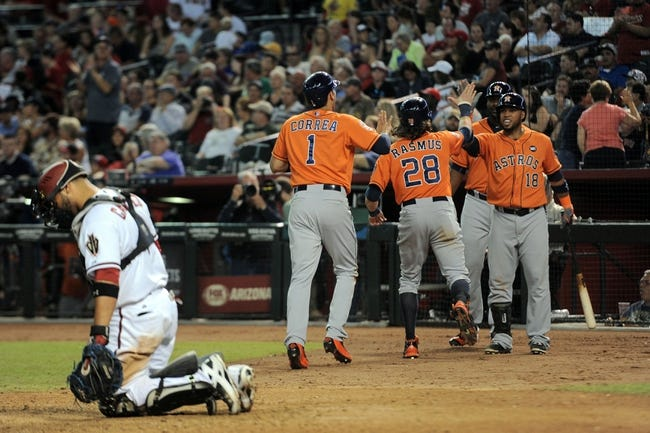 Arizona Diamondbacks vs. Houston Astros - 10/3/15 MLB Pick, Odds, and Prediction