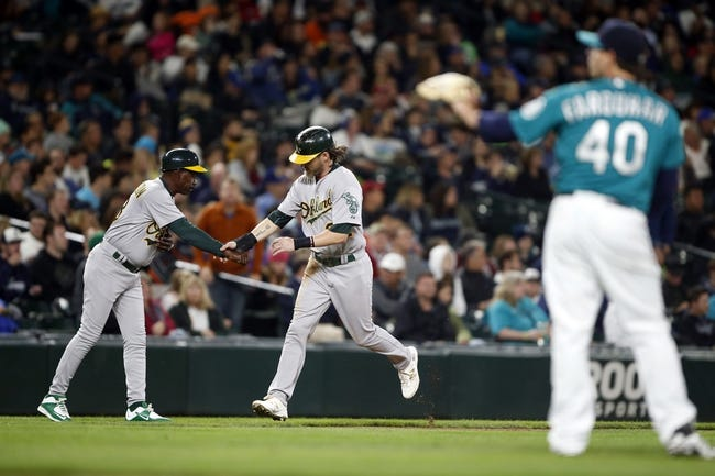 Seattle Mariners vs. Oakland Athletics - 10/3/15 MLB Pick, Odds, and Prediction