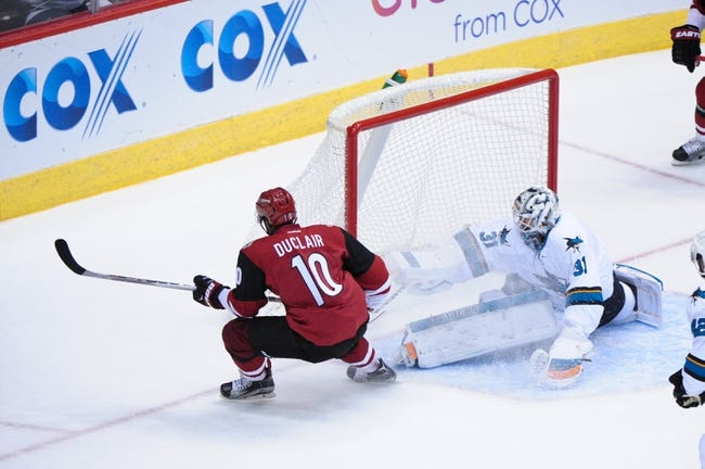 Coyotes vs. Sharks - 1/21/16 NHL Pick, Odds, and Prediction