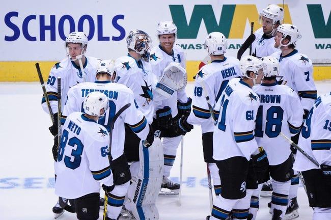 Los Angeles Kings vs. San Jose Sharks - 10/7/15 NHL Pick, Odds, and Prediction
