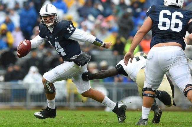 Penn State vs. Indiana - 10/10/15 College Football Pick, Odds, and Prediction
