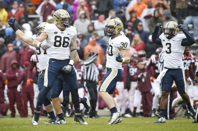 CFB | Virginia Cavaliers (1-3) at Pittsburgh Panthers (3-1)