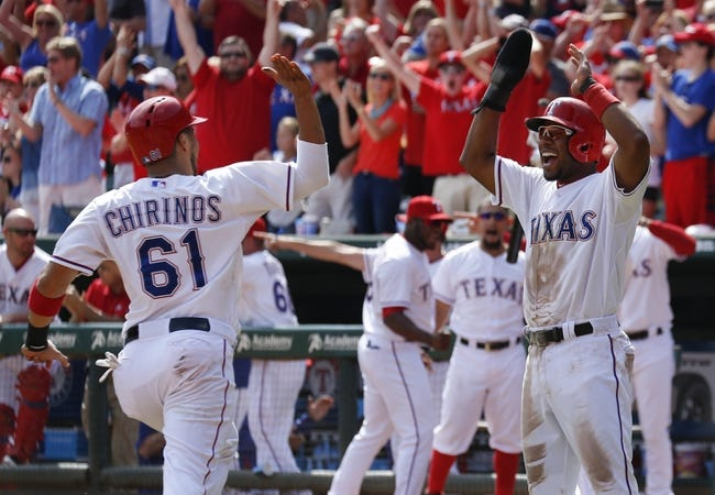 Texas Rangers vs. Los Angeles Angels - 10/4/15 MLB Pick, Odds, and Prediction