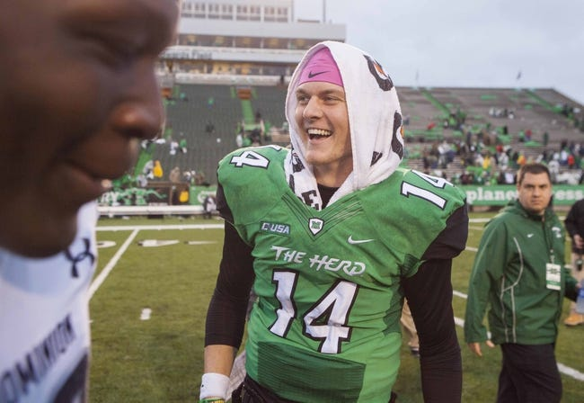 Southern Miss at Marshall - 10/9/15 College Football Pick, Odds, and Prediction