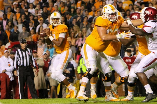 Georgia at Tennessee - 10/10/15 College Football Pick, Odds, and Prediction
