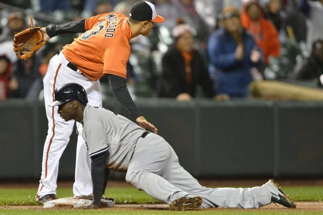 Orioles vs. Yankees - 10/4/15 MLB Pick, Odds, and Prediction