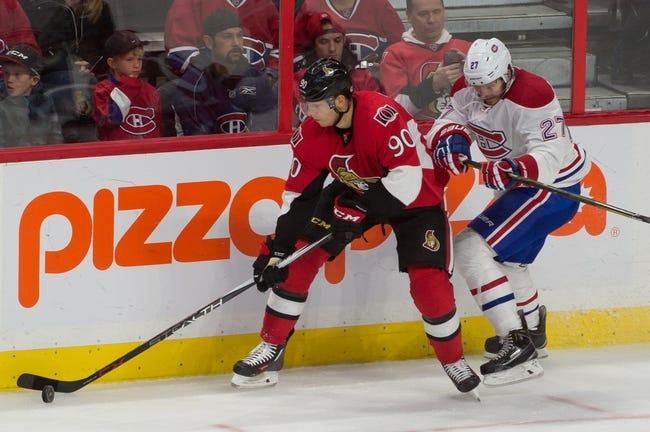 Ottawa Senators vs. Montreal Canadiens - 10/11/15 NHL Pick, Odds, and Prediction