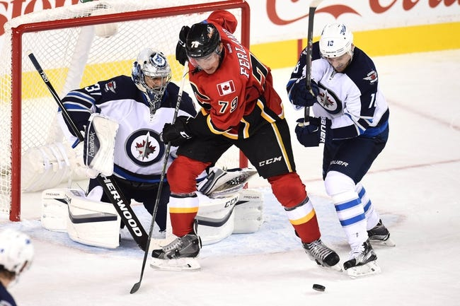Flames at Jets - 10/16/15 NHL Pick, Odds, and Prediction