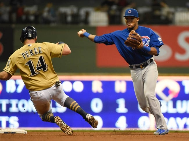 Brewers at Cubs - 4/26/16 MLB Pick, Odds, and Prediction