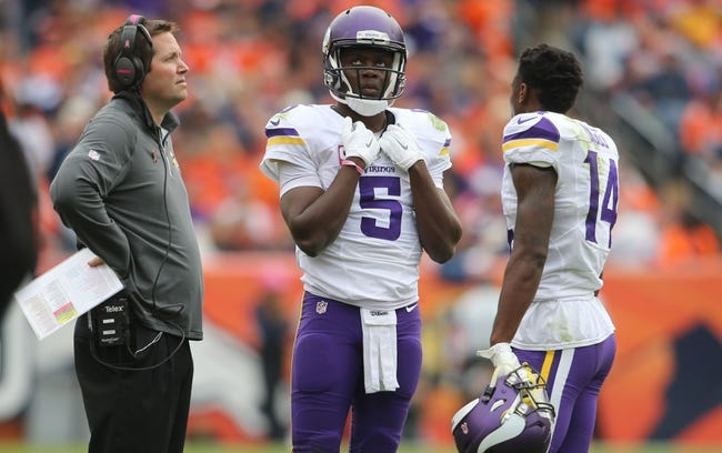 Chiefs at Vikings - 10/18/15 NFL Pick, Odds, and Prediction