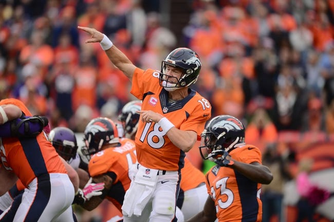 Denver Broncos at Cleveland Browns - 10/18/15 NFL Pick, Odds, and Prediction