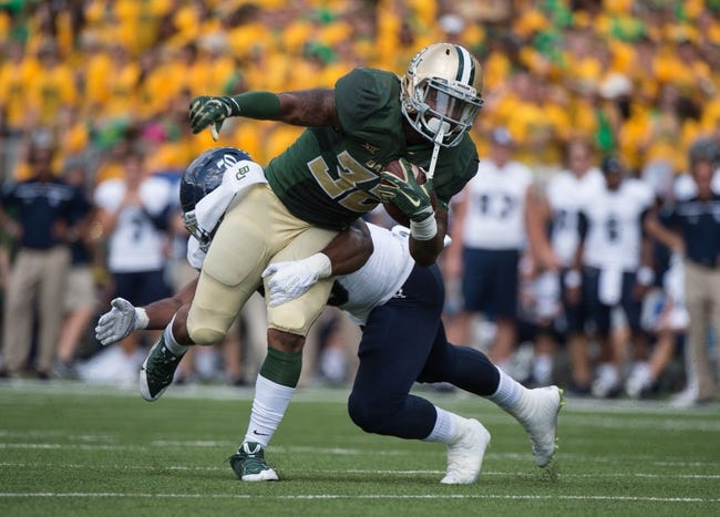 West Virginia Mountaineers vs. Baylor Bears - 10/17/15 College Football Pick, Odds, and Prediction