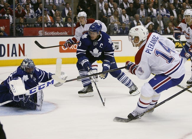 Montreal Canadiens vs. Toronto Maple Leafs - 10/24/15 NHL Pick, Odds, and Prediction