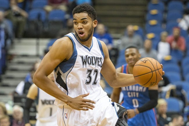 Minnesota Timberwolves vs. Oklahoma City Thunder - 1/12/16 NBA Pick, Odds, and Prediction