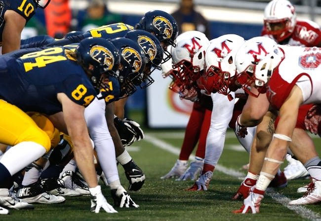 Miami-OH RedHawks vs. Kent State Golden Flashes - 10/15/16 College Football Pick, Odds, and Prediction