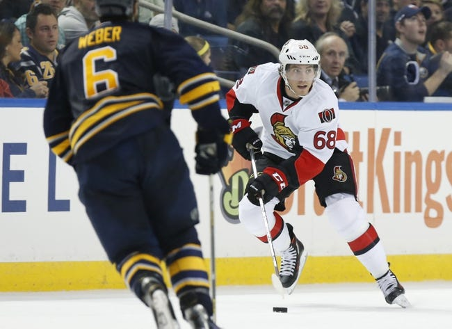 Ottawa Senators vs. Buffalo Sabres - 1/26/16 NHL Pick, Odds, and Prediction