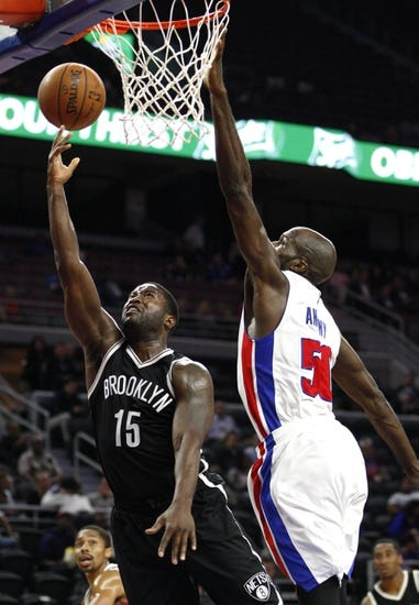 Brooklyn Nets vs. Detroit Pistons - 11/29/15 NBA Pick, Odds, and Prediction