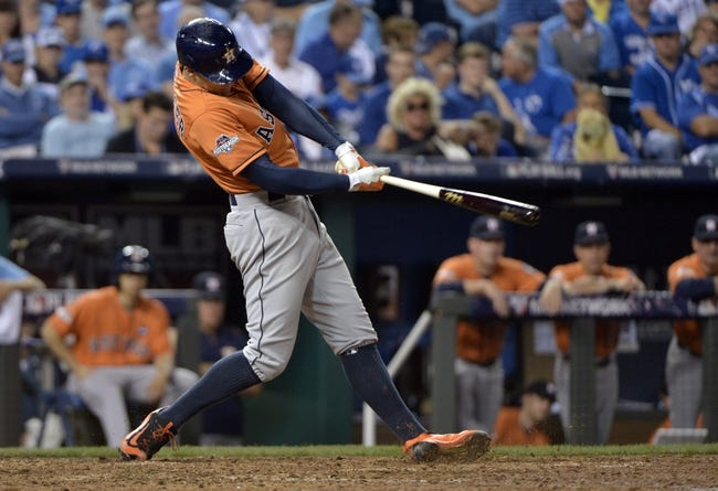 Astros at Royals - 10/9/15 MLB Pick, Odds, and Prediction