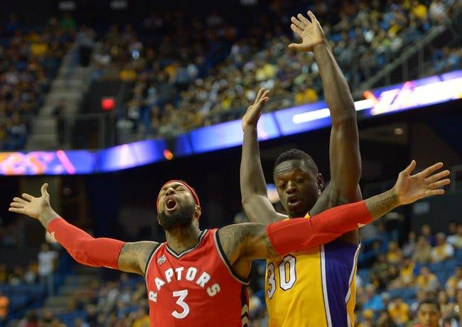 Los Angeles Lakers vs. Toronto Raptors - 11/20/15 NBA Pick, Odds, and Prediction