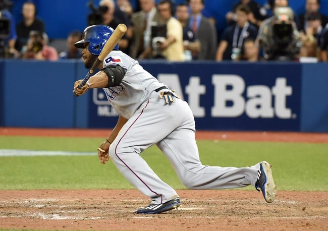 Texas Rangers vs. Toronto Blue Jays ALDS Game 3 - 10/11/15 MLB Pick, Odds, and Prediction