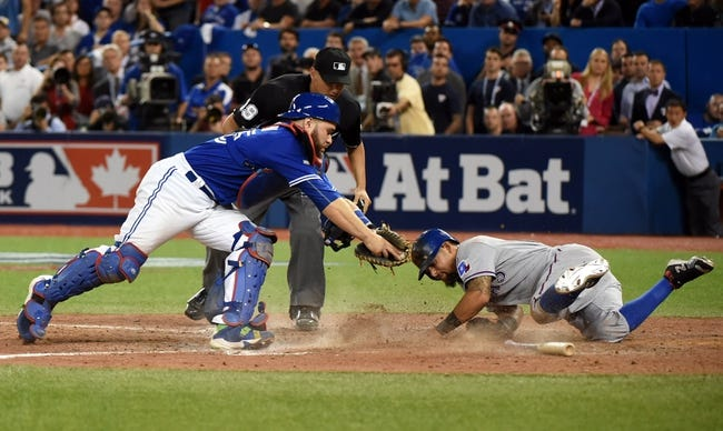 Blue Jays at Rangers - 10/11/15 ALDS Game Three Pick, Odds, and Prediction