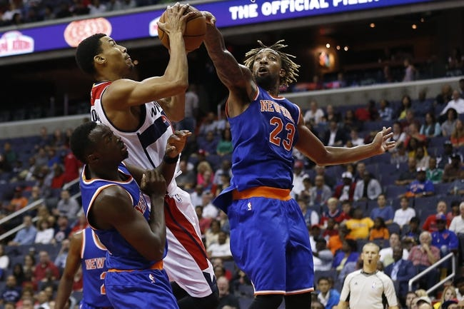 Washington Wizards vs. New York Knicks - 10/31/15 NBA Pick, Odds, and Prediction