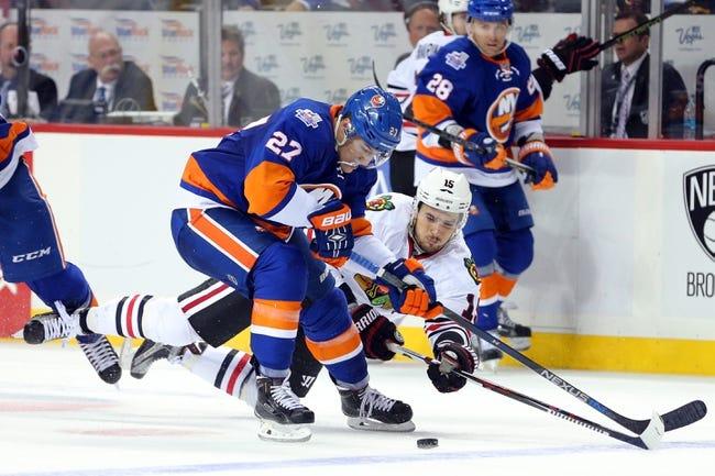 Chicago Blackhawks vs. New York Islanders - 10/10/15 NHL Pick, Odds, and Prediction