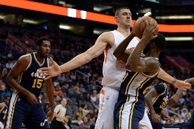 Utah Jazz vs. Phoenix Suns - 12/21/15 NBA Pick, Odds, and Prediction