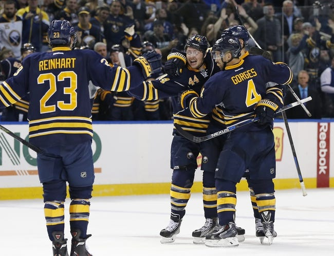 Buffalo Sabres vs. Columbus Blue Jackets - 10/12/15 NHL Pick, Odds, and Prediction